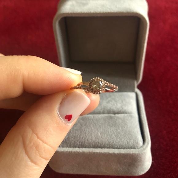 13216e367 Zales Jewelry | Rose Gold Ring | Poshmark